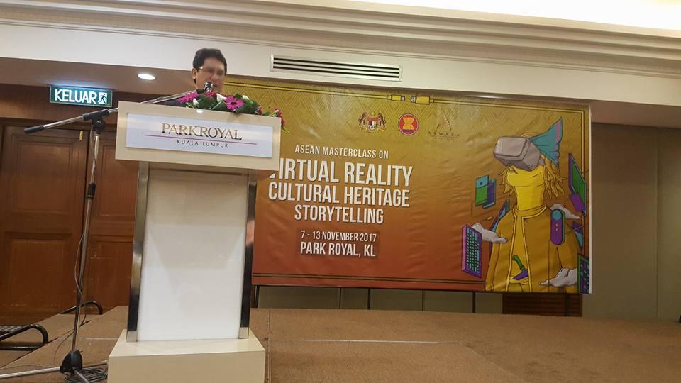 ASWARA VR Heritage Conference 2017