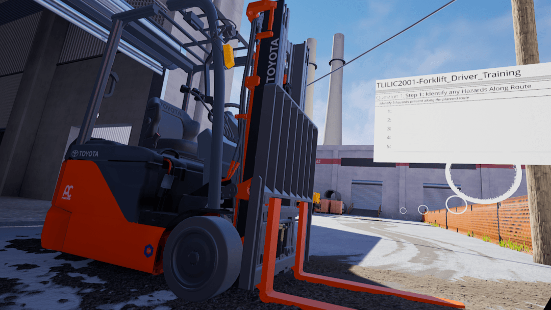 Forklift VR Training